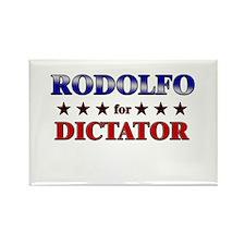 RODOLFO for dictator Rectangle Magnet