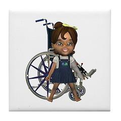 Katrina Broken Left Arm Tile Coaster