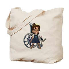 Katrina Broken Left Arm Tote Bag
