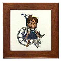 Katrina Broken Left Leg Framed Tile
