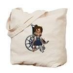 Katrina Broken Left Leg Tote Bag