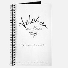Valabar & Sons Recipe Journal