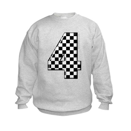 racing #4 Kids Sweatshirt