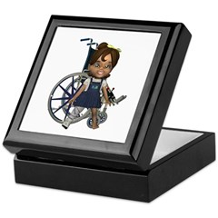 Katrina Broken Right Leg Keepsake Box