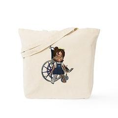 Katrina Broken Right Leg Tote Bag