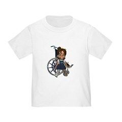 Katrina Broken Right Leg Toddler T-Shirt