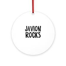Javion Rocks Ornament (Round)