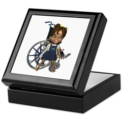 Katrina Broken Right Arm Keepsake Box
