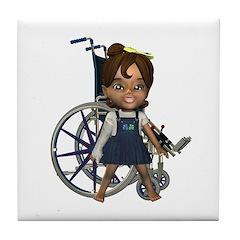 Katrina Broken Right Arm Tile Coaster