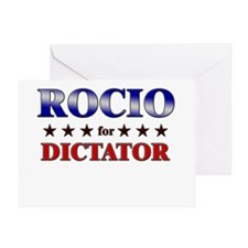 ROCIO for dictator Greeting Card