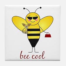 Bee Cool Tile Coaster