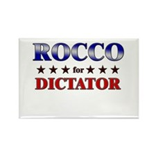 ROCCO for dictator Rectangle Magnet