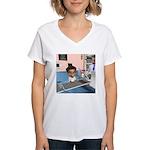 Karlo Sick Women's V-Neck T-Shirt