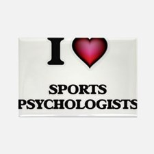 I love Sports Psychologists Magnets