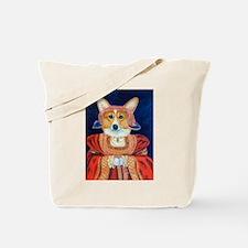 Corgi Queen Tote Bag