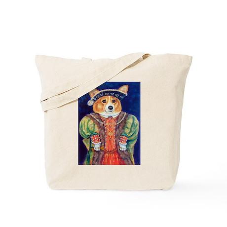 Corgi King Tote Bag