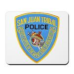San Juan Indian Police Mousepad