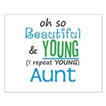 Beautiful and Young Aunt Small Poster