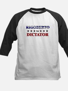 RIGOBERTO for dictator Kids Baseball Jersey