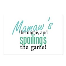 Mamaw's the Name! Postcards (Package of 8)