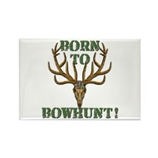 Born to Bowhunt! Rectangle Magnet