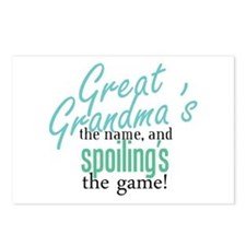 Great Grandma's the Name Postcards (Package of 8)