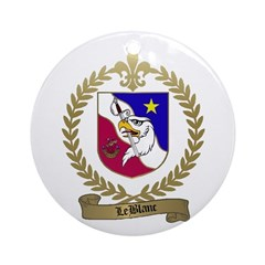 LEBLANC Family Ornament (Round)