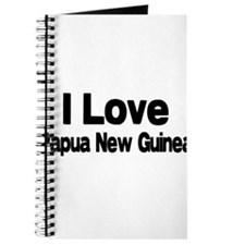 i love Papua New Guinea Journal