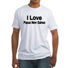 i love Papua New Guinea Shirt