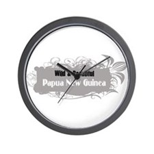 Wild Papua New Guinea Wall Clock