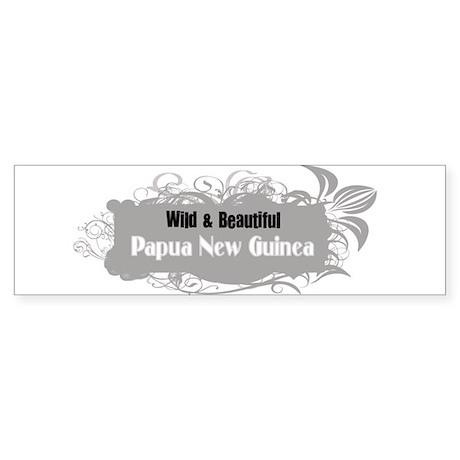 Wild Papua New Guinea Bumper Sticker