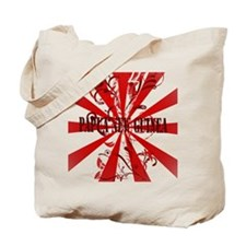 Red vintage Papua New Guinea Tote Bag