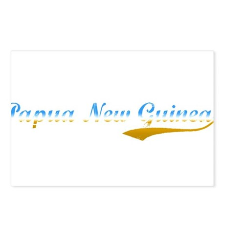 Papua New Guinea beach flange Postcards (Package o