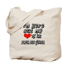 my hearts in Papua New Guinea Tote Bag