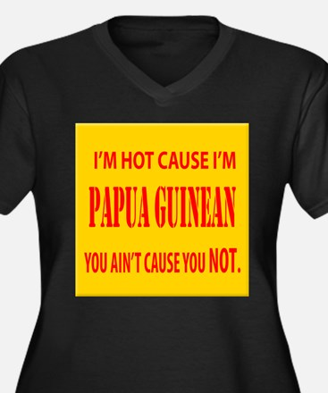 Hot Papua New Guinean Women's Plus Size V-Neck Dar