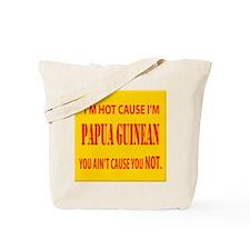 Hot Papua New Guinean Tote Bag