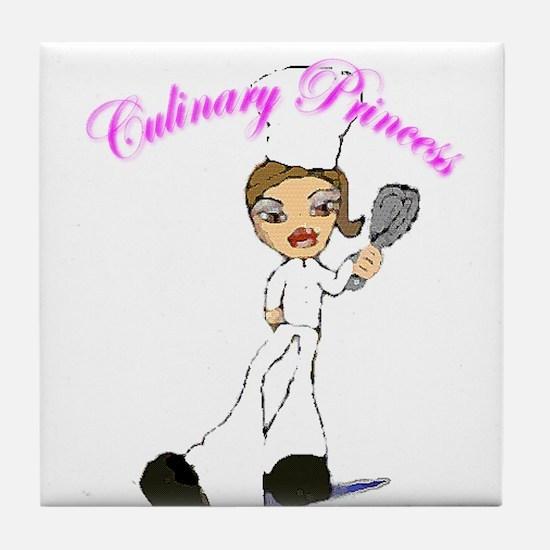 Culinary Princess Tile Coaster