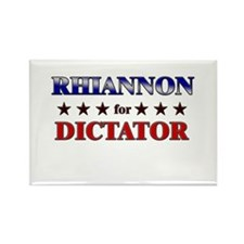 RHIANNON for dictator Rectangle Magnet