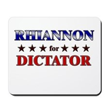 RHIANNON for dictator Mousepad