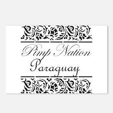Pimp nation Paraguay Postcards (Package of 8)