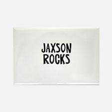 Jaxson Rocks Rectangle Magnet