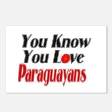 you know you love Paraguayans Postcards (Package o