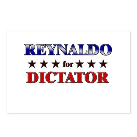 REYNALDO for dictator Postcards (Package of 8)