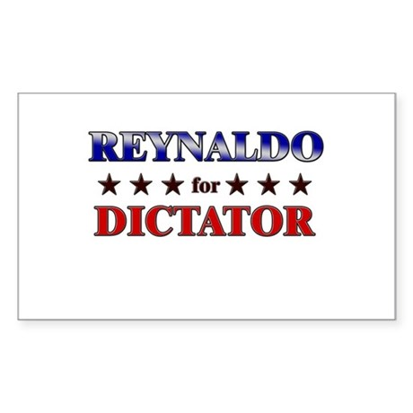 REYNALDO for dictator Rectangle Sticker