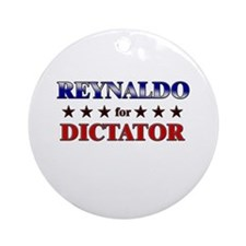 REYNALDO for dictator Ornament (Round)