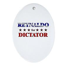 REYNALDO for dictator Oval Ornament