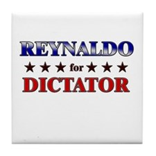 REYNALDO for dictator Tile Coaster