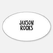 Jaxson Rocks Oval Decal