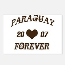 Paraguay forever Postcards (Package of 8)