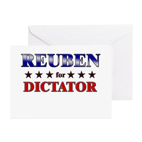 REUBEN for dictator Greeting Cards (Pk of 20)